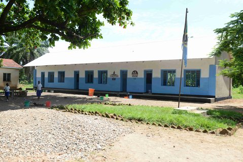 A first building for Ngonga