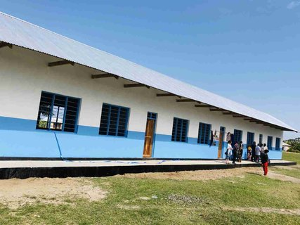 Maendeleo inaugurates another 4-classroom building
