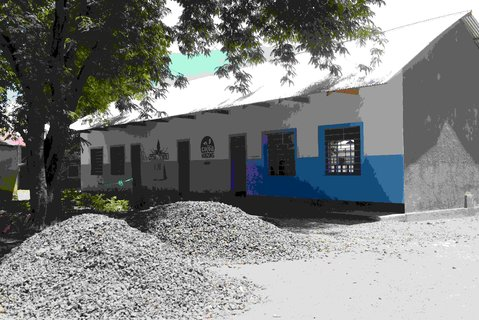 Ndandalo moves quickly: a second building completed